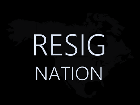 EXCLUSIVE POEM: RESIGNATION by Jason Falloon
