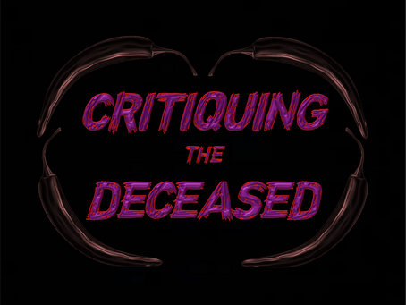 NEW RELEASE: CRITIQUING THE DECEASED
