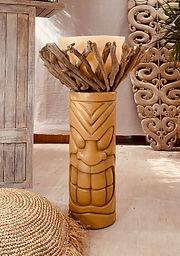 Large Tiki Candle