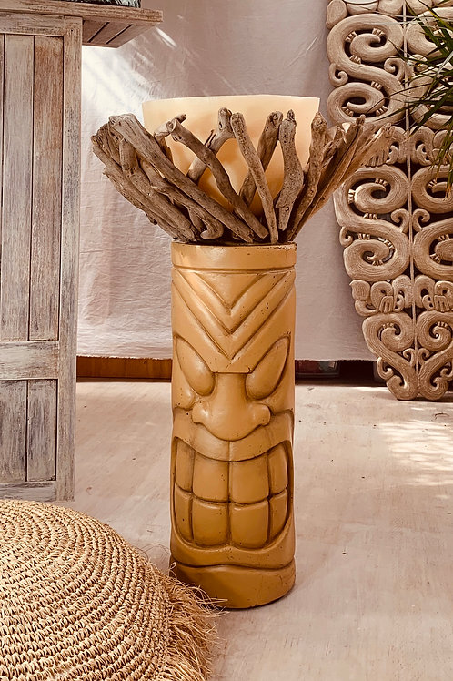 Large Tiki Candle