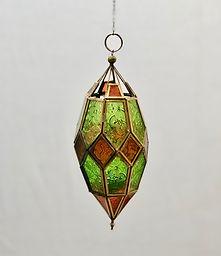 Green Jewell Lantern