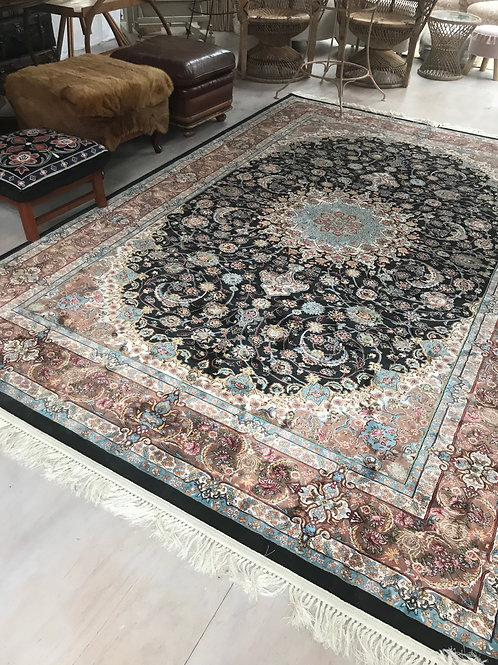 Blue/Black Persian Rug