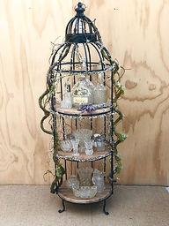 Birdcage stand