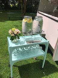 Mint drinks trolley