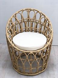 Cane Cushioned Seat