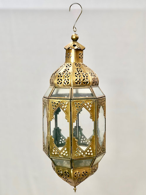 Medium Brass Lantern