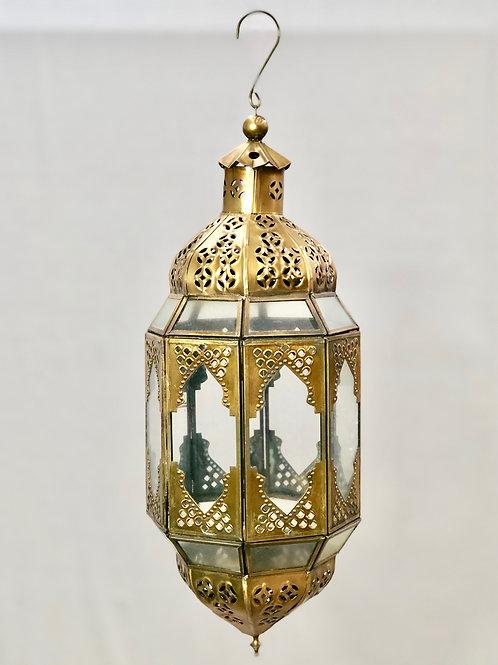 Medium Brass Lantern