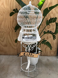 French Birdcage Wishing Well