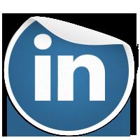 LinkedIn Sticker
