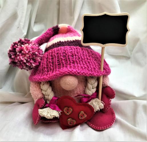Nordic Gnome - Patricia Pink