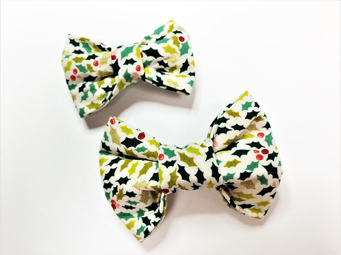 Dog Bow Tie - Multi Holly