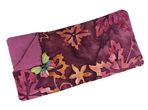 Padded Spectacle Case - Purple