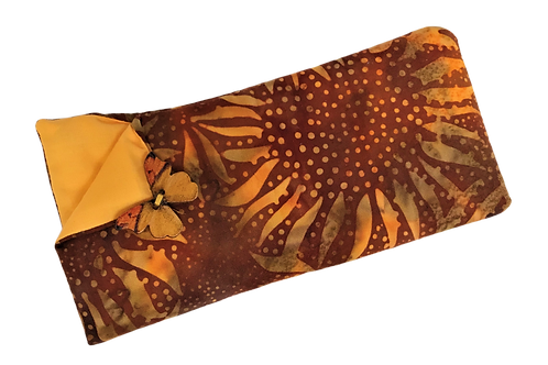 Padded Spectacle Case - Sunflower