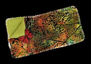 Handmade padded Batik spectacle case