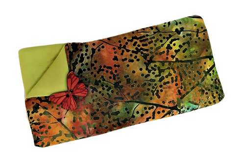 Padded Spectacle Case - Autumn Green