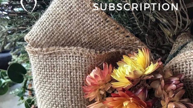 Four Week Floral Subscription