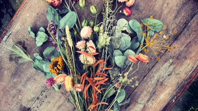 Irish grown dried flower bundle