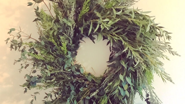 Full Seasonal Foliage Wreath
