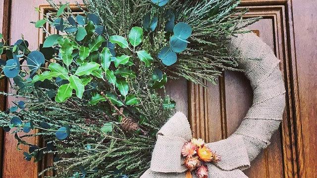 Seasonal Foliage Wreath - Anna
