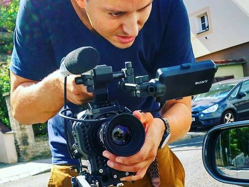 Stewe kameramanínek v akci. Za zaslanou