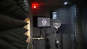 Unbeatable Records - nahrávací místnost