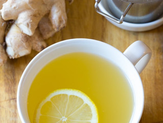 Healing your body with Ginger-Lemon Elixir