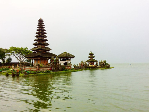 The floating temple