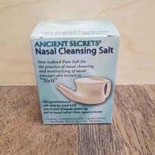 Ancient Secrets-Ceramic Neti Pot Salts