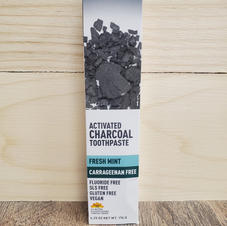 Desert Essense-Charcoal Toothpaste
