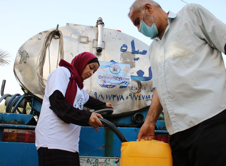 Gaza Water Distribution 2020