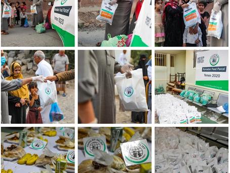 Yemen Food Aid distribution