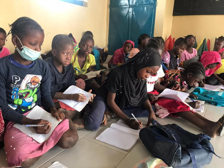 Education support in Africa