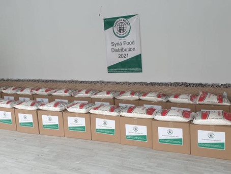 Syria Food Distribution - Ramadan 2021