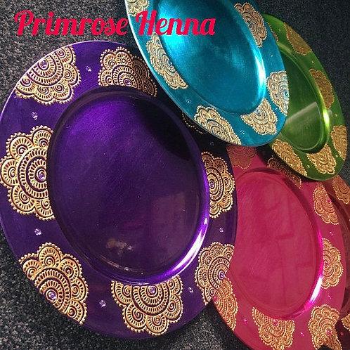 Henna Thaal Plate