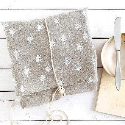 Brot und Teigtuch, Annamay handprinted