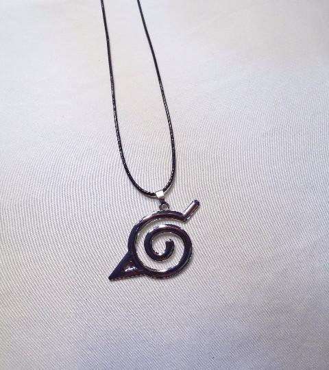 Naruto Konohagakure Leaf Village Symbol Necklace