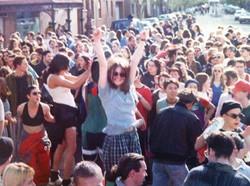 Brunswick St Street Rave 5 1995