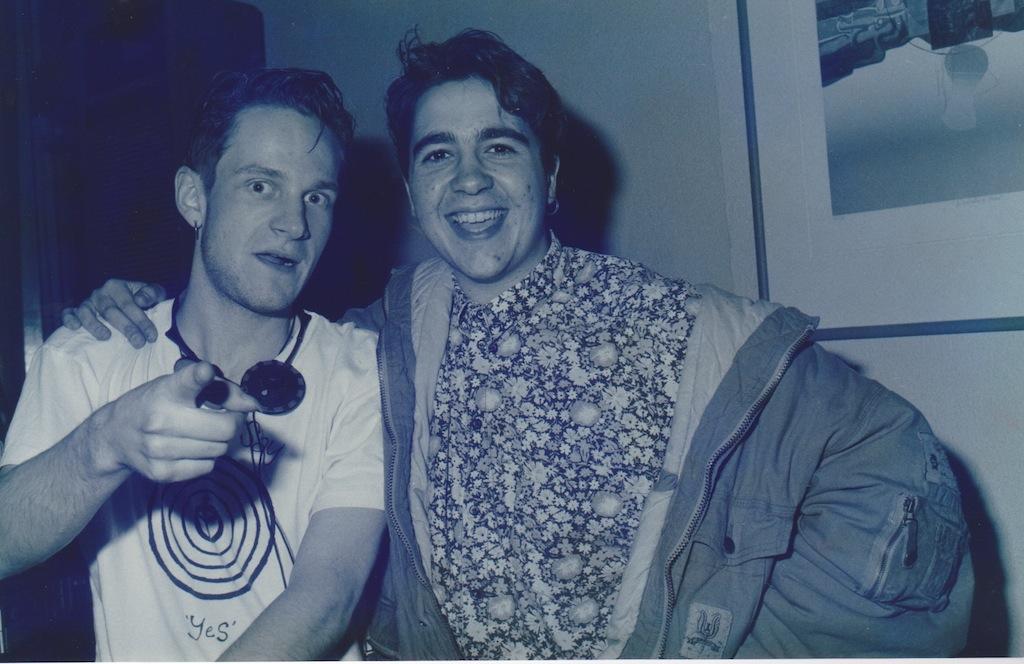 Rudeboy and David Carbone at Maze