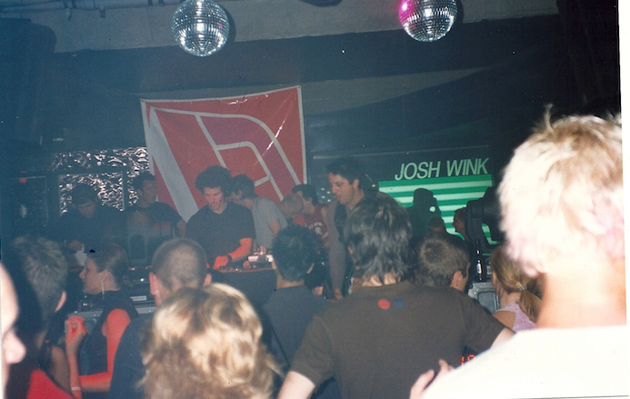 Josh Wink plays Seven nightclub