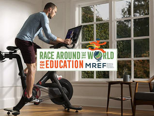 MREF's Race Around the World for Education Makes A Smashing Debut