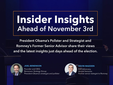 Insider Insights Ahead of November 3rd