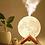 Thumbnail: Difusor Umidificador Luminária Abajur Lua 3d 880ml
