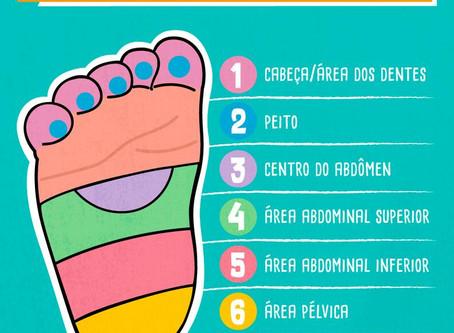 Reflexologia Podal em Bebês e Crianças