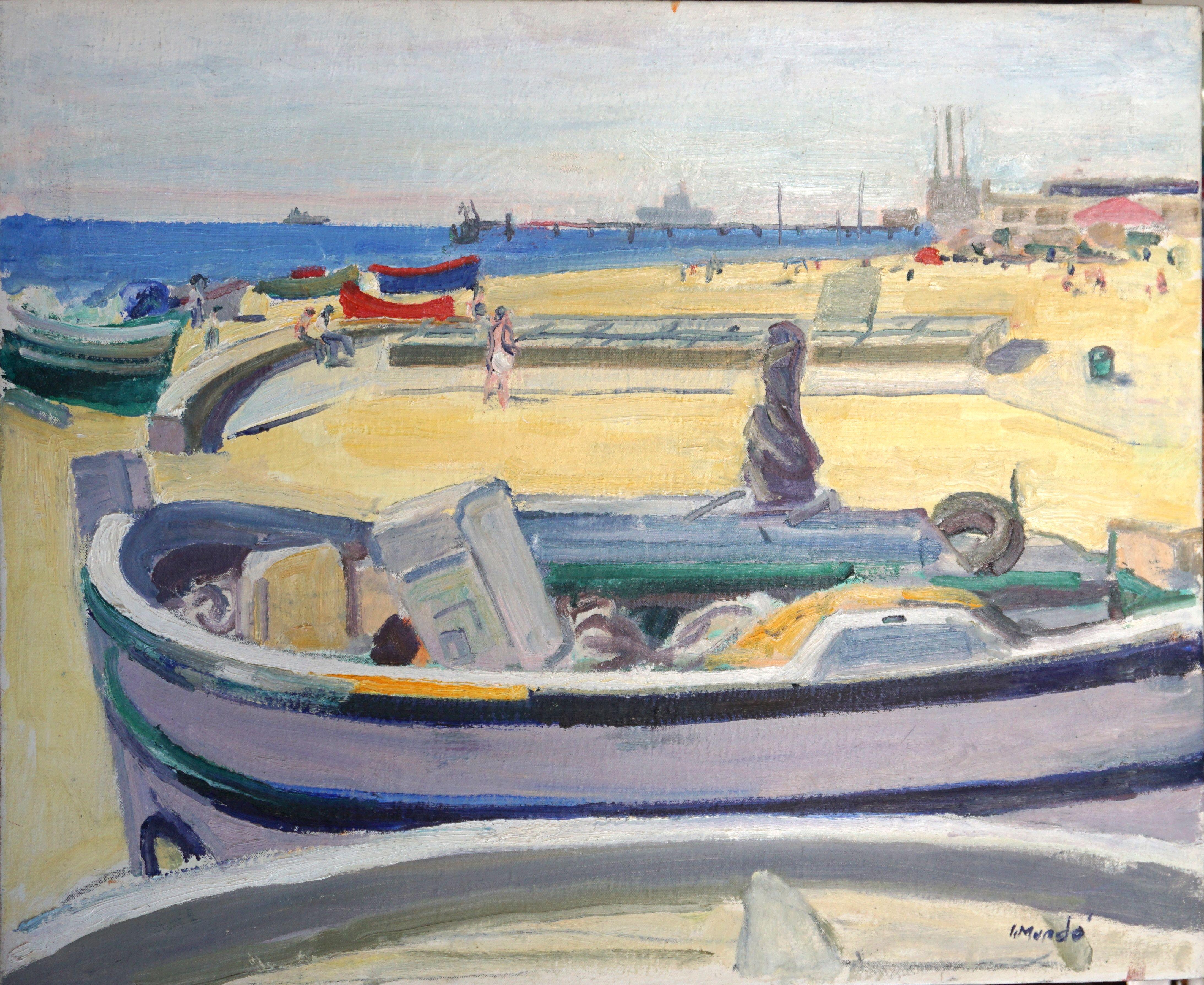 Barques a Torredembarra