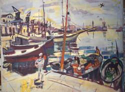Vista del port