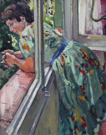 A la finestra