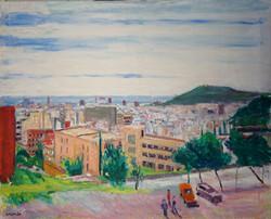 Vista de Barcelona des de la Creueta