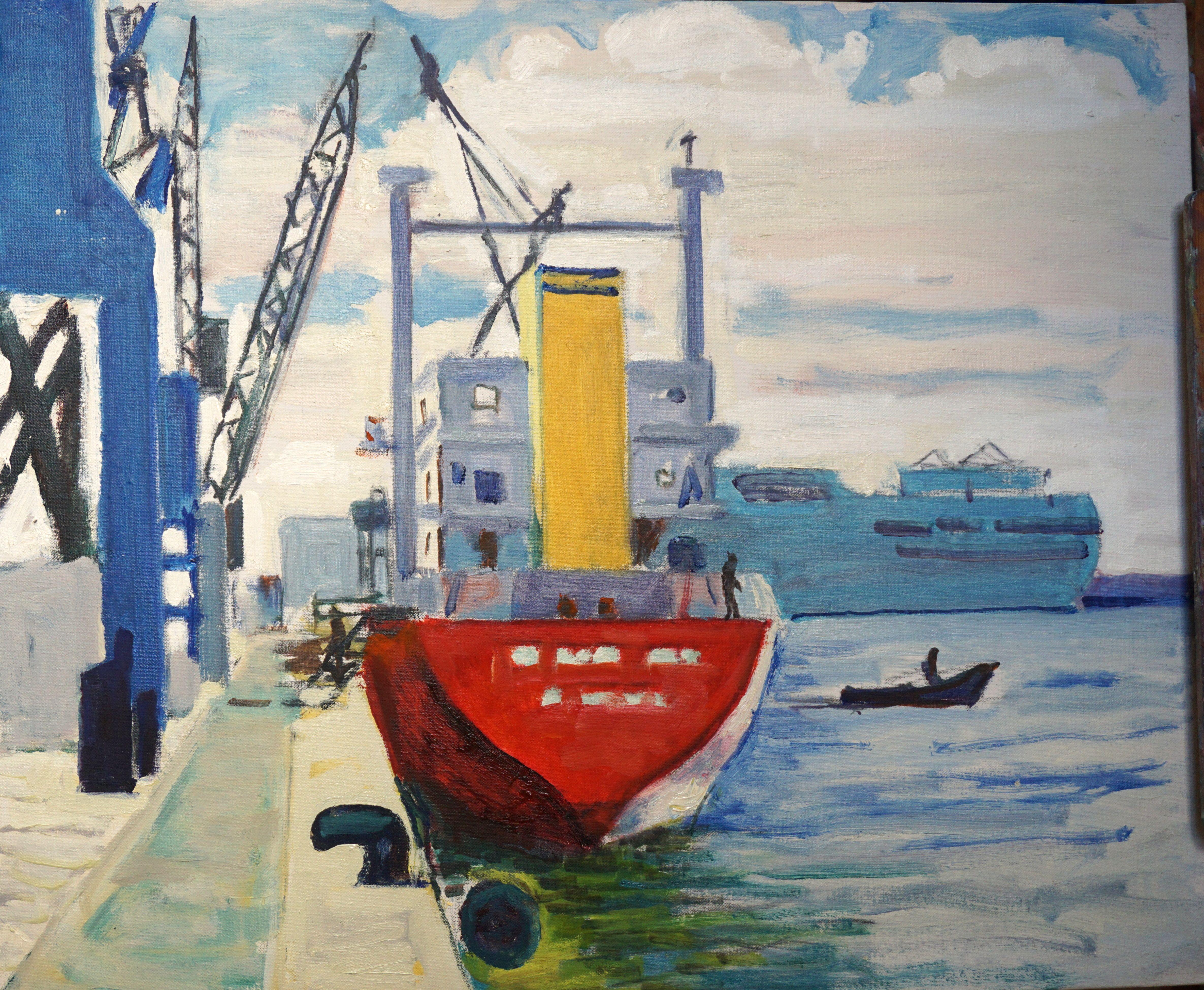 Vaixell al port