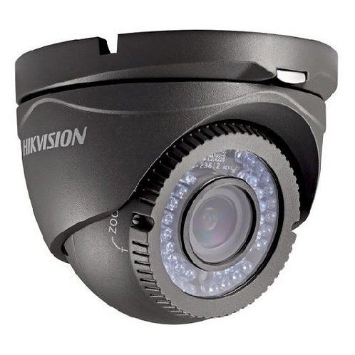HIKVision 2MP 2.8-12mm Turbo HD Varifocal IR Grey Turret DS-2CE56D1T-VFIR3-G