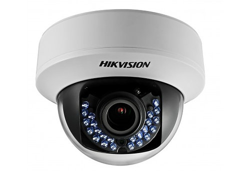 HIKVision 2MP 2.8-12mm Turbo HD Indoor IR Varifocal Dome DS-2CE56D5T-VFIR